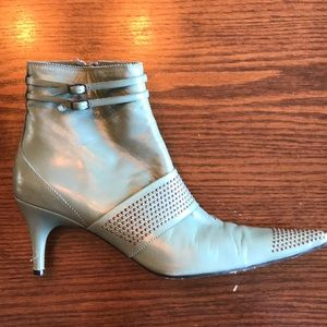 Pedro Garcia Pistacchio leather booties